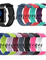 cheap -18mm Watch Band for Mi Smartwatch Xiaomi Sport Band / Classic Buckle Silicone Wrist Strap