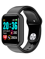 cheap -L18 Unisex Smartwatch Android iOS Bluetooth Waterproof Heart Rate Monitor Blood Pressure Measurement Distance Tracking Information Pedometer Call Reminder Activity Tracker Sleep Tracker Sedentary