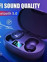 cheap -New cross-border explosive E6S smart digital display Bluetooth headset wireless sports mini headset stereo in-ear