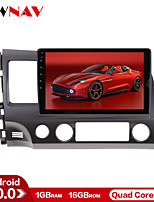 cheap -ZWNAV 10.1 inch 1din 1GB 16GB Android 10 IPS Car GPS Navigation Car Radio Player Car Multimedia Player Car MP5 Player Tape Recorder For Honda CIVIC 2006-2011