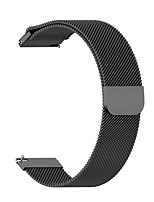cheap -Watch Band for Gear S3 Classic / Samsung Galaxy Watch 46mm Amazfit / Samsung Galaxy / Huawei Milanese Loop Stainless Steel Wrist Strap