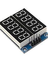 cheap -8-Bit Serial Interface Red Highlight Digital Tube Display Module 74HC164 LCD Driver Board
