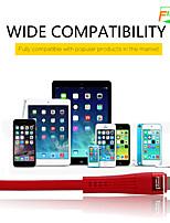 Недорогие -Micro USB / Подсветка / Type-C Кабель 2 A 1.0m (3FT) Быстрая зарядка ABS + PC Адаптер USB-кабеля Назначение Samsung / Huawei / Xiaomi