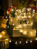 cheap -LED Star Light String Battery Ball Small Lantern Flashing String Lights Christmas Room Curtain Lights Ins Birthday Decoration