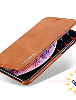 cheap -Case For Samsung Galaxy Galaxy A30(2019) / Galaxy A50(2019) / Samsung Galaxy A20(2019) Card Holder / Flip Full Body Cases Solid Colored PU Leather