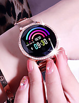 cheap -MC11 Women's Smartwatch Android Bluetooth Heart Rate Monitor Blood Pressure Measurement Sports Long Standby Exercise Record Timer Stopwatch Pedometer Call Reminder Sleep Tracker