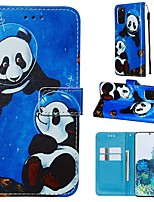 cheap -Case For Samsung Galaxy A90/Galaxy A80/Galaxy A50s Wallet / Card Holder / with Stand Full Body Cases Panda PU Leather For Galaxy A51/A71/S20/S20 Plus/S20 Ultra/A10S/A20S/A30S