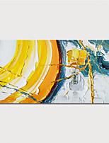 Недорогие -ручная роспись свернутая холст картина маслом современная абстрактная живопись