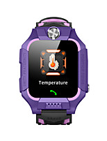 cheap -W02 Kids Kids' Watches Android iOS Bluetooth Waterproof Touch Screen Sports Long Standby Thermometer Timer Call Reminder Alarm Clock Temperature Display