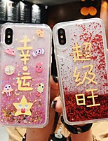cheap -Case For Apple iPhone 11 / iPhone 11 Pro / iPhone 11 Pro Max Shockproof / Flowing Liquid Back Cover Word / Phrase PC