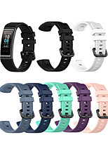 cheap -Watch Band for Huawei B3 / Huawei Band 3 Pro Huawei Classic Buckle Silicone Wrist Strap