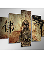 cheap -5 Panels Modern Canvas Prints Painting Home Decor Artwork Pictures DecorPrint Rolled  Stretched  Modern Art Prints History Religious