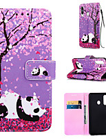 cheap -Case For Samsung Galaxy S9 / S9 Plus / S8 Plus Wallet / Card Holder / Rhinestone Full Body Cases Panda PU Leather for Galaxy S20 PLUS S20 ULTRA S20 A51 A71 A50 A40 A30 A20 A10S NOTE10 J4 PLUS