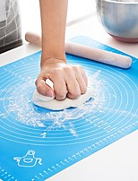 cheap -Silicone Baking Mat Thickening Flour Rolling Scale Mat Kneading Dough Pad Baking Pastry Rolling Mat Bakeware Liners