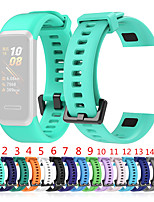 cheap -Watch Band for Huawei band 4 Huawei Sport Band Silicone Wrist Strap