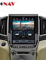 cheap -ZWNAV 12.1 inch 1din Android 8.1 Car GPS Navigation auto radio Car Multimedia player Car MP5 Player For TOYOTA LAND CRUISER LC200 2016-2019