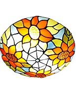 cheap -QIHengZhaoMing 3-Light 40 cm Globe Design Flush Mount Lights Metal Glass LED 110-120V / 220-240V