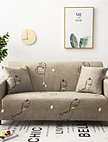 cheap -Cartoon Dinosaur Print Dustproof All-powerful Slipcovers Stretch Sofa Cover Super Soft Fabric Couch Cover with One Free Pillow Case