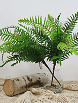 cheap -Artificial fern living room balcony office decorative potted plant 1 Pcs