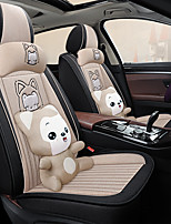 cheap -5 seats four seasons universal Seat Cover / PU Leather / Airbag compatibility / fiadjustable and removable / five color choices