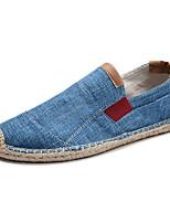 cheap -Men's Mesh Fall & Winter Loafers & Slip-Ons Color Block Red / Khaki / Blue