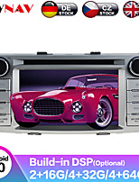 cheap -ZWNAV 6.2inch 2din 4GB 64GB Android 9.0 Car CD DVD Player GPS navigation Auto Stereo Car Multimedia player radio SATNAV For Toyota Hilux Fortuner 2012-2014