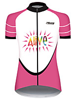 cheap -21Grams Women's Short Sleeve Cycling Jersey 100% Polyester Black / Red Novelty Australia Bike Jersey Top Mountain Bike MTB Road Bike Cycling UV Resistant Breathable Quick Dry Sports Clothing Apparel