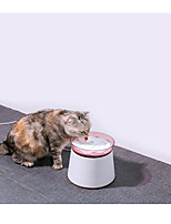 cheap -Dog Cat Feeders 1.8 L PP YARN Casual Lolita Pink Green Gray Bowls & Feeding