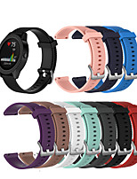 cheap -Watch Band for Vivoactive 3 / Garmin Forerunner245 / Garmin vivoactive4S Garmin Sport Band Silicone Wrist Strap
