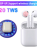 cheap -i20 TWS Original Wireless Earphones Bluetooth 5.0 Earphone Touch Control Earbuds Sport Headsets For iPhone HUAWEI Samsung