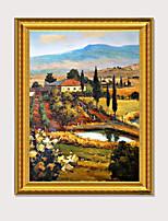 Недорогие -печать в рамке печать известных импрессионистов пастырское пейзажи современные пс картина маслом стены искусства