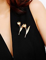 cheap -Women's Brooches Basic Wedding Halloween Trendy Casual / Sporty Korean Fashion Brooch Jewelry Gold Silver For Holiday Date Birthday Party Party & Evening Festival