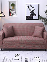 cheap -Luxury Plaid Grid Print Dustproof All-powerful Slipcovers Stretch Sofa Cover Super Soft Fabric Couch Cover with One Free Pillow Case
