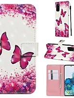 cheap -Case For Samsung Galaxy A40S/Galaxy A30S/Galaxy A50s Wallet / Card Holder / with Stand Full Body Cases Butterfly PU Leather For Galaxy A51/A71/S20/S20 Plus/S20 Ultra/A10S/A20S