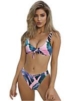 cheap -Women's Blushing Pink Bikini Swimwear Swimsuit - Geometric S M L Blushing Pink