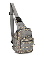 cheap -6 L Hiking Backpack Hiking Sling Backpack Rain Waterproof Wearable Outdoor Hiking Climbing Jogging Oxford Cloth Army Green Camouflage Dark Gray