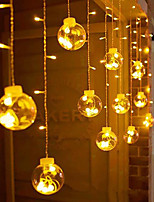cheap -LED Curtain Light String Copper Wire Wishing Ball Small Ball Bulb Bulb Full Of Stars Holiday Decoration Lamp