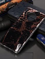 cheap -Case For Huawei Huawei P20 Pro / Huawei P20 lite / Huawei P30 Plating / Pattern Back Cover Geometric Pattern / Marble TPU