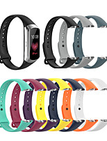 cheap -Watch Band for galaxy fit SM-R370 / Samsung Galaxy Fit SM-R370 Samsung Galaxy Sport Band Silicone Wrist Strap