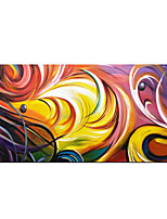 cheap -Pure Hand Painted Abstract Colorful Oil Paintings on Canvas Fantasy Modern Artwork with Wood Inside Framed Ready to Hang for Home Decor