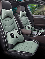 cheap -Breathable Summer Car cushion Car seat cover leather ice wire All-inclusive Four Seasons for surrounded / five seats / general seat cover