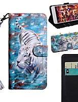 cheap -Case For Samsung Galaxy S9 / S9 Plus / S8 Plus Wallet / Card Holder / with Stand Full Body Cases Animal PU Leather / TPU