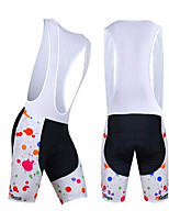 cheap -21Grams Women's Cycling Bib Shorts Bike Pants / Trousers Padded Shorts / Chamois Pants Breathable 3D Pad Quick Dry Sports Cat Black / Red / Black / Pink Mountain Bike MTB Road Bike Cycling Clothing