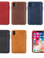 cheap -Case For Apple iPhone 6/7/8/6P/7P/8P/X/XS/ XR / XS Max  Shockproof Back Cover Solid Colored TPU