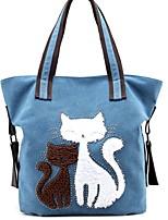 cheap -Women's Zipper Canvas Top Handle Bag Solid Color White / Blue / Dark Coffee