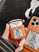 cheap -Purpurina lquida arenas movedizas dinmicas Air Pods  2 1 funda de lujo transparente dibujos animados oso auriculares de conejos funda para Apple Airpods