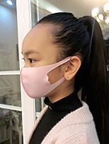 cheap -3pcs Winter Mask Dustproof Mouth Face Mask Anime Cartoon Kpop Lucky Bear Women Men Sponge Face Mouth Masks for Children Kids