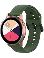 cheap -Watch Band for Pebble Time Round / Pebble Time 2 Pebble Classic Buckle Silicone Wrist Strap