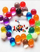 cheap -100g/bag Colorful Pearl Gel Ball Polymer Hydrogel Potted Crystal Mud Soil Water Beads Grow Magic Jelly Wedding