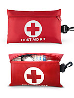 cheap -RISEN 2-in-1 First Aid Kit (101Piece) Travel Rescue Bag Compact Lightweight for Emergencies at Home Outdoors Car Camping Workplace Hiking & Camp Survival With Hooks